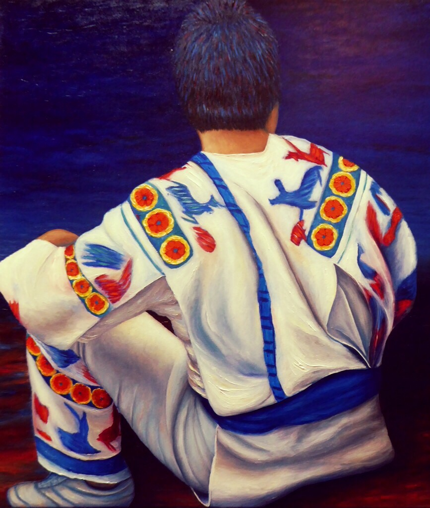 "Huichol | Oil on Canvas| 36"" x 30.5"""